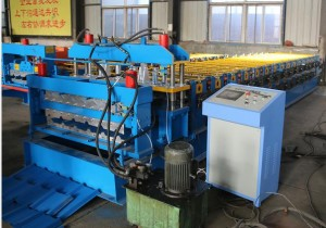 Double layer roofing sheet roll forming machine 300x210 - Steel tile equipment computer control system