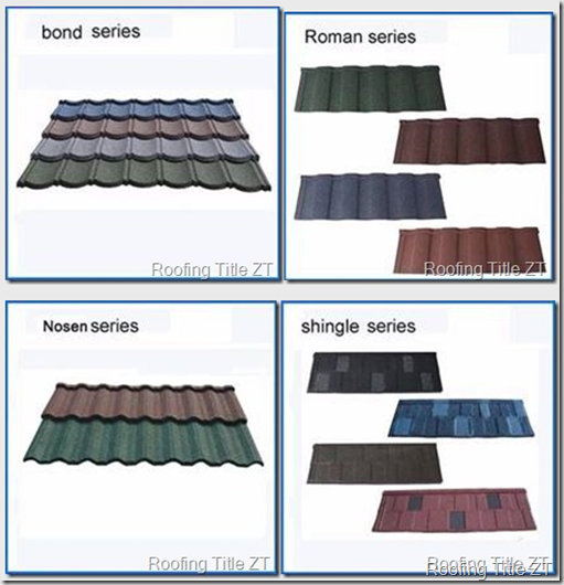 image thumb - Stone coated roofing tile making machine elements