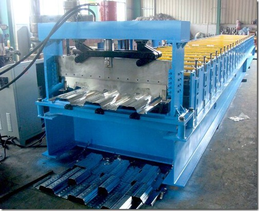 2 thumb - Floor Deck roll forming machine