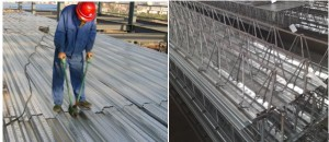 C35 roofing sheet 300x130 - 688 for floor boards machine