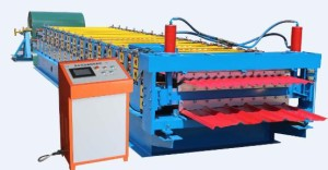 color steel roll forming machine 300x156 - Color steel roll forming machine