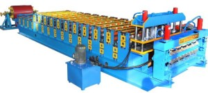 double layer roll forming machine 300x135 - Color steel roll forming machine