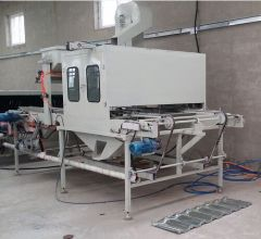 stone coated roofing sheet machine