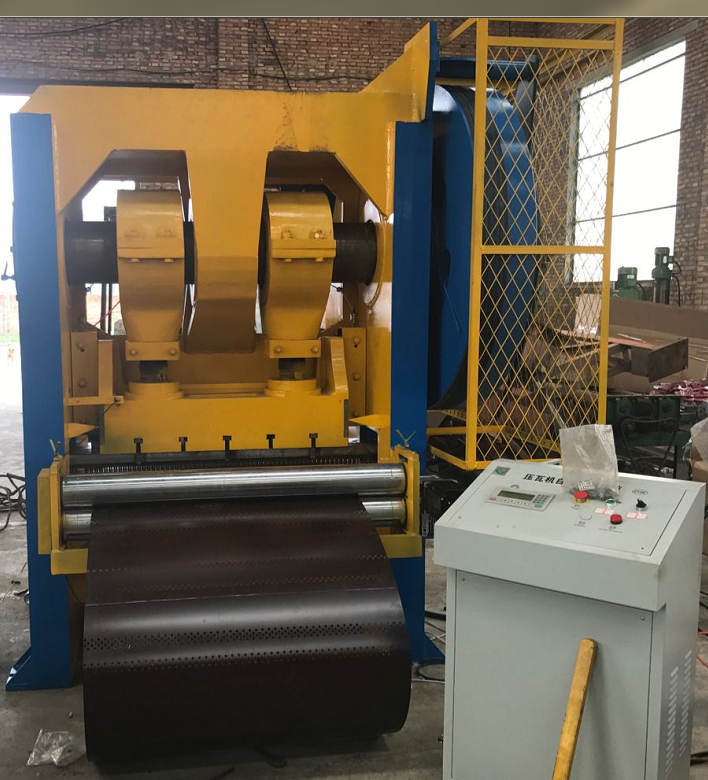 Fully automatic metal plate punching and shearing machine2