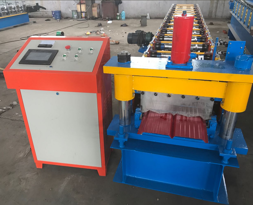Wall Cladding Roll Forming Machine3
