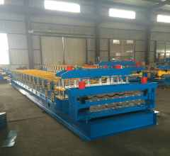 double layer floor tile machine