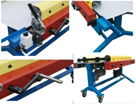 Manual and small portable linear roll forming machine_detail