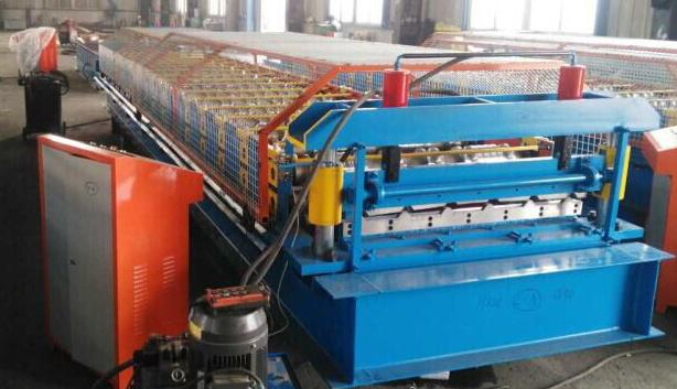 Customized roofing sheet roll forming machine_main