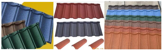 Stone-coated roof tile line making machine_profile